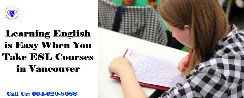 ESL Course Canada
