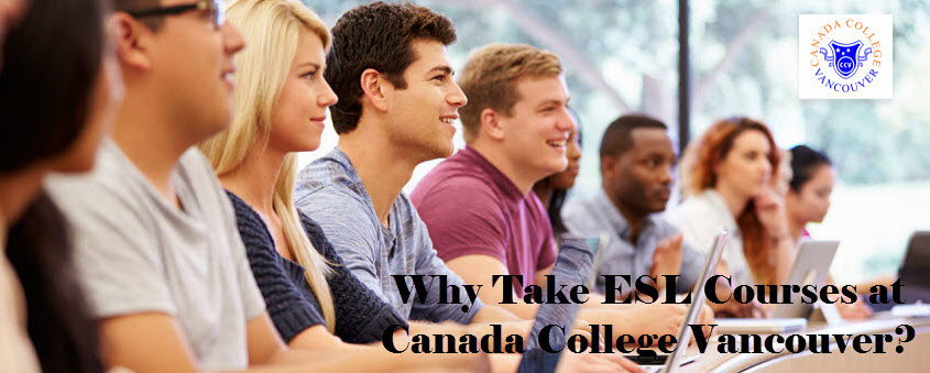 ESL Courses at Canada College Vancouver